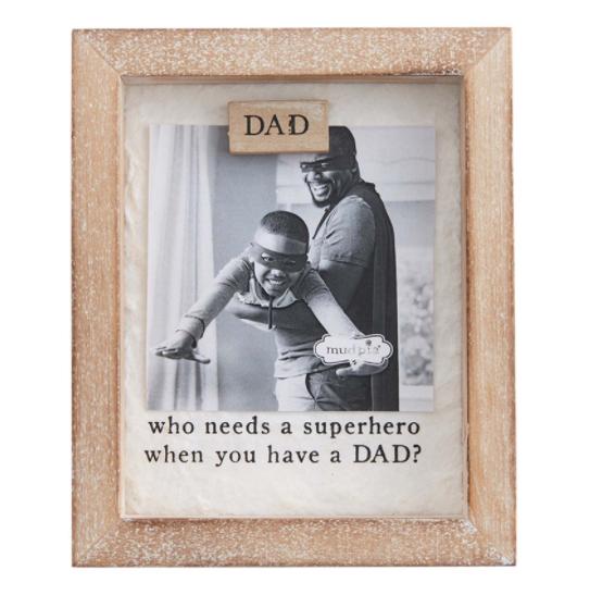 Dad's Keepsake Magnetic Frame