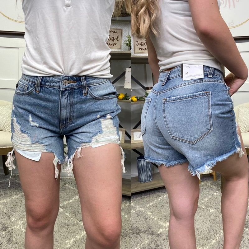 The Daphne High Rise KanCan Shorts