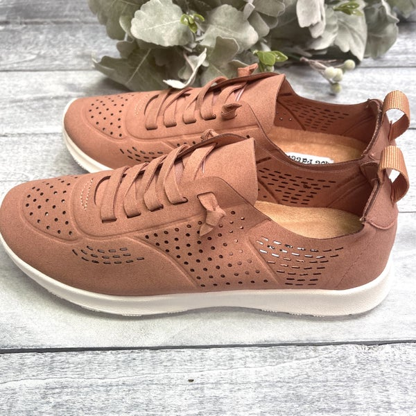 Salmon Low-Cut Not Rated Sneakers