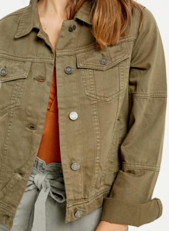 Uptown Girl Olive Jacket