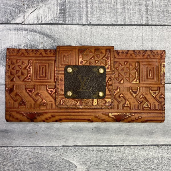 Up-Cycled Designer Inca Wallet