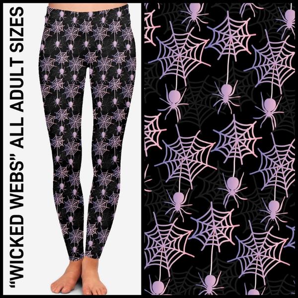 Wicked Webs Leggings