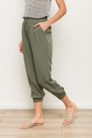 Elastic Waist Pants - 2 colors!