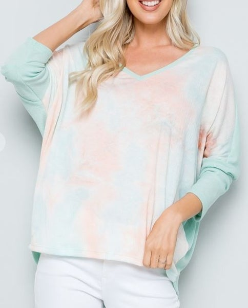 Water Color Me Top - 2 colors!