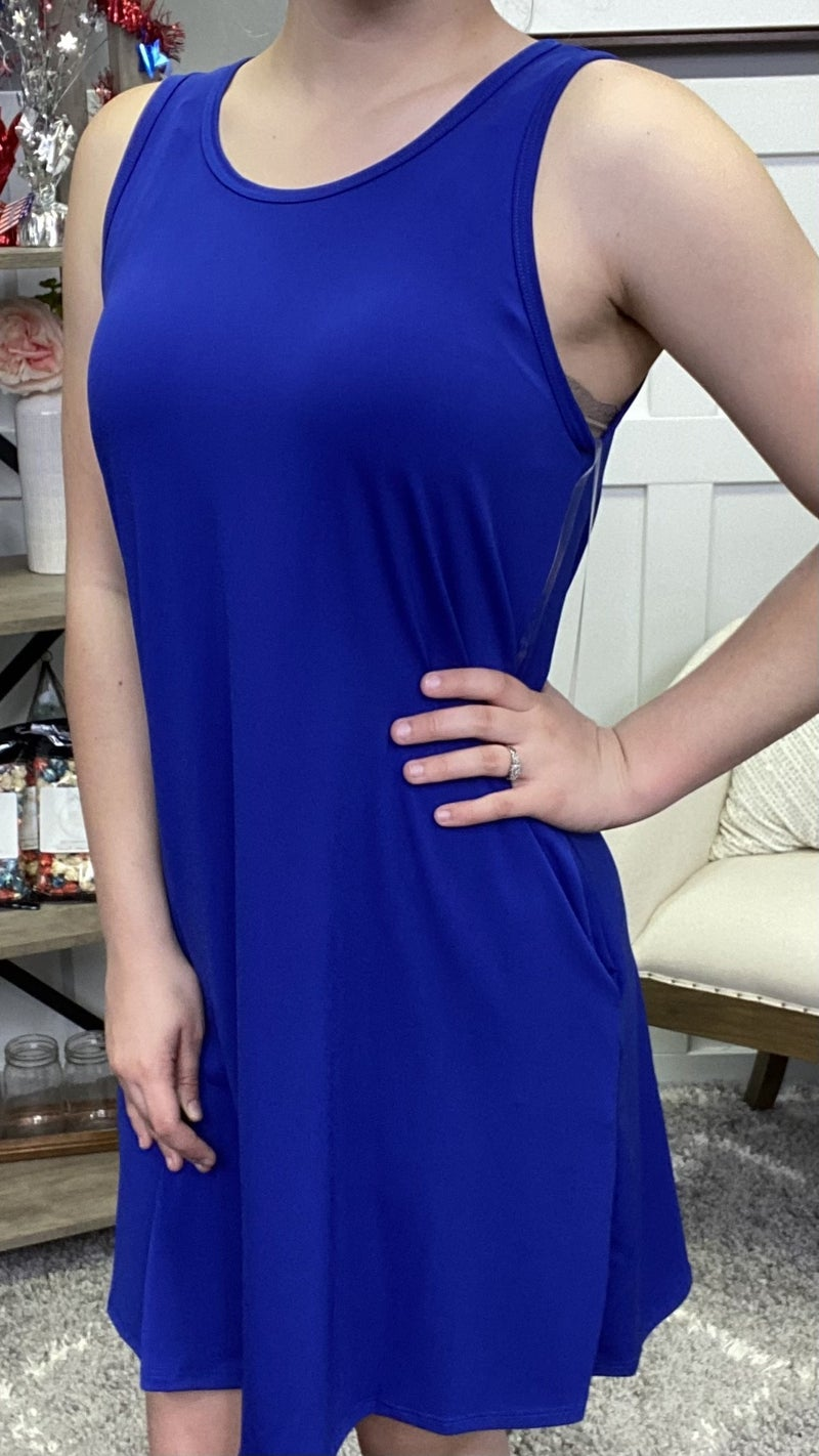 In Blue Glory Honeyme Dress - 2 colors!