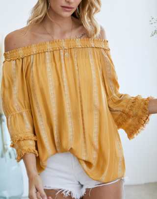 Thinking About You Top - 2 colors!