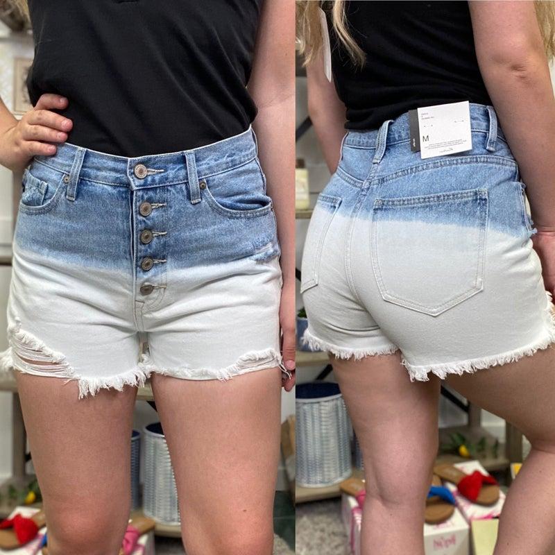 The Zoie High Rise KanCan Shorts