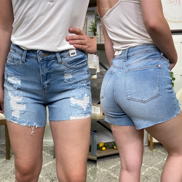 The Phoebe High Rise Judy Blue Shorts