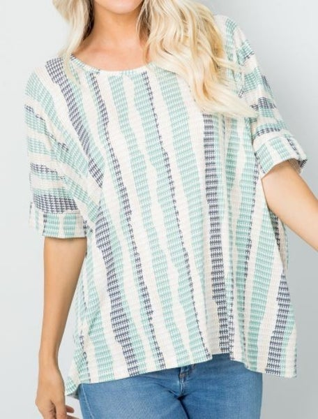 Striped Baby Top - 2 colors!