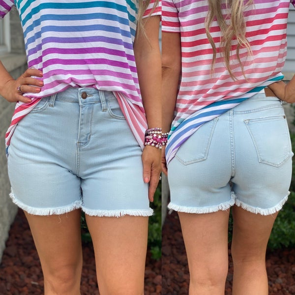 The Willow High Rise Judy Blue Shorts