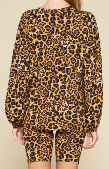 Heavenly Leopard PJ Set (2 piece set)