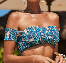 Bahama Vibe Swim Top