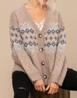 Snowfall Sweater Cardigan