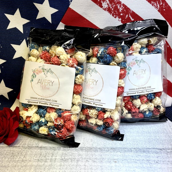 Americana 4th of July Popcorn (3 pck. - 2.6oz bags)