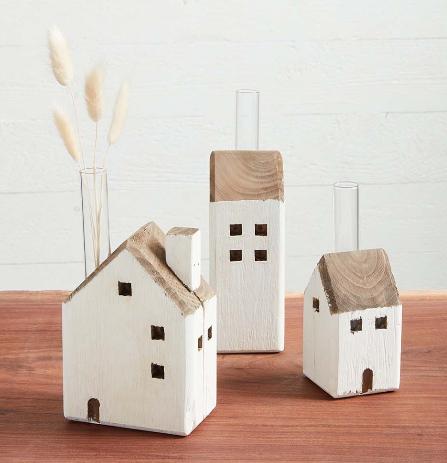 House Bud Vases - 3 sizes!