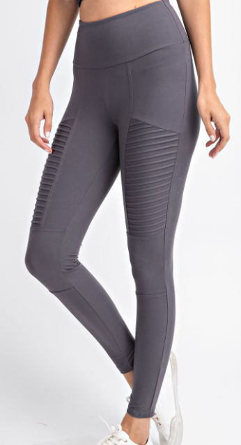Textured Save The Day Leggings
