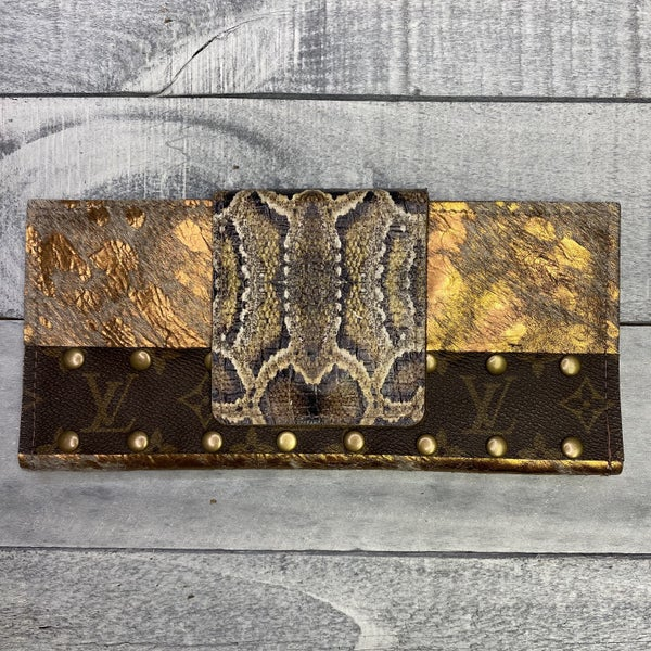 Up-Cycled Designer High Class Wallet