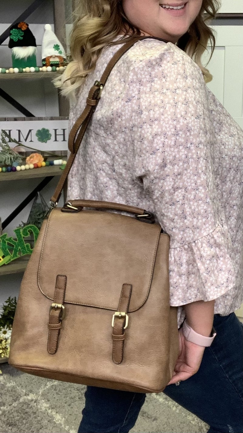 Coffee Shop Backpack - 2 colors!
