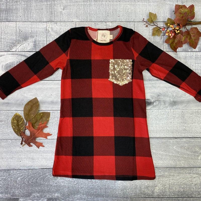 Fall Favorite Youth Dress