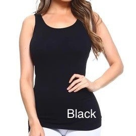 Basic Fitted Layering Tank - 18 colors!