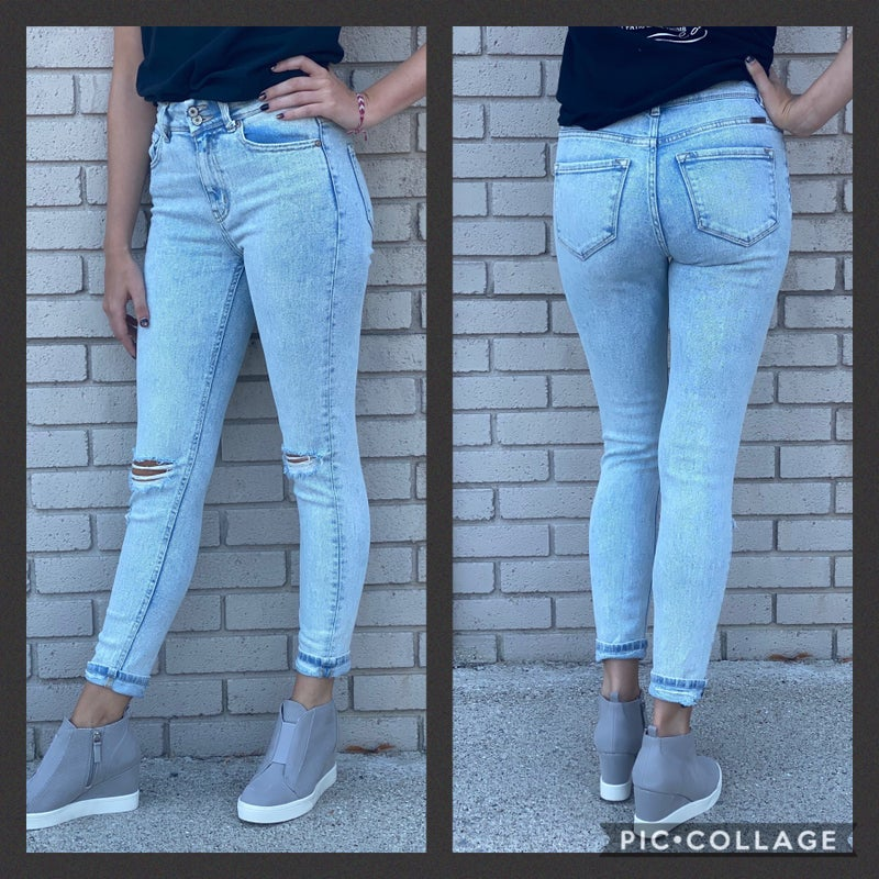 Stella High Rise Light Stone Wash KanCan Jeans