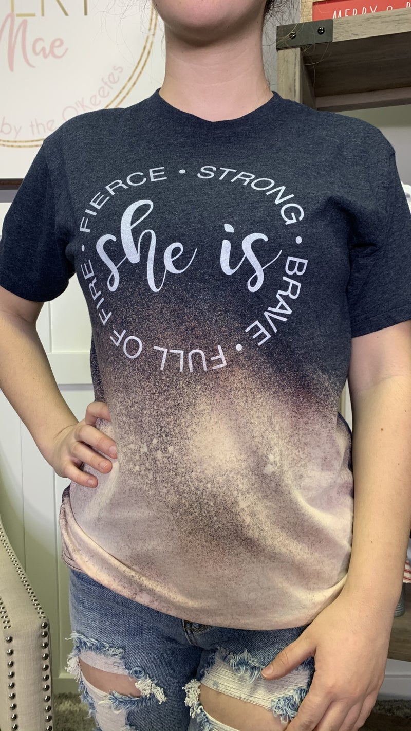 All She is Graphic Tee