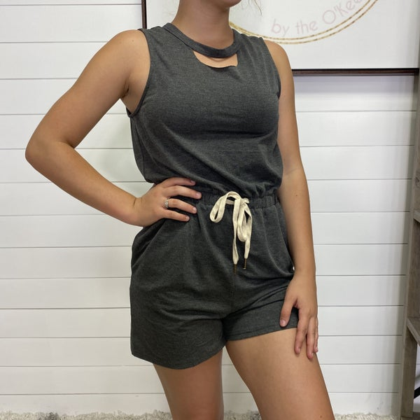 Open Back Doe & Rae Romper