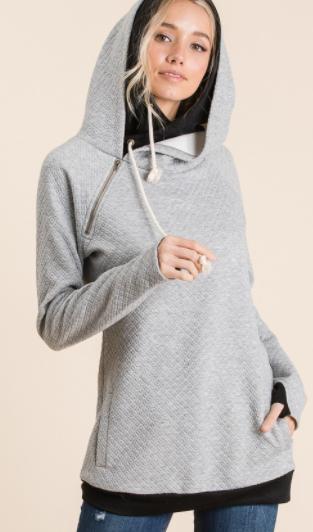 Light Days Double Hooded Sweatshirt