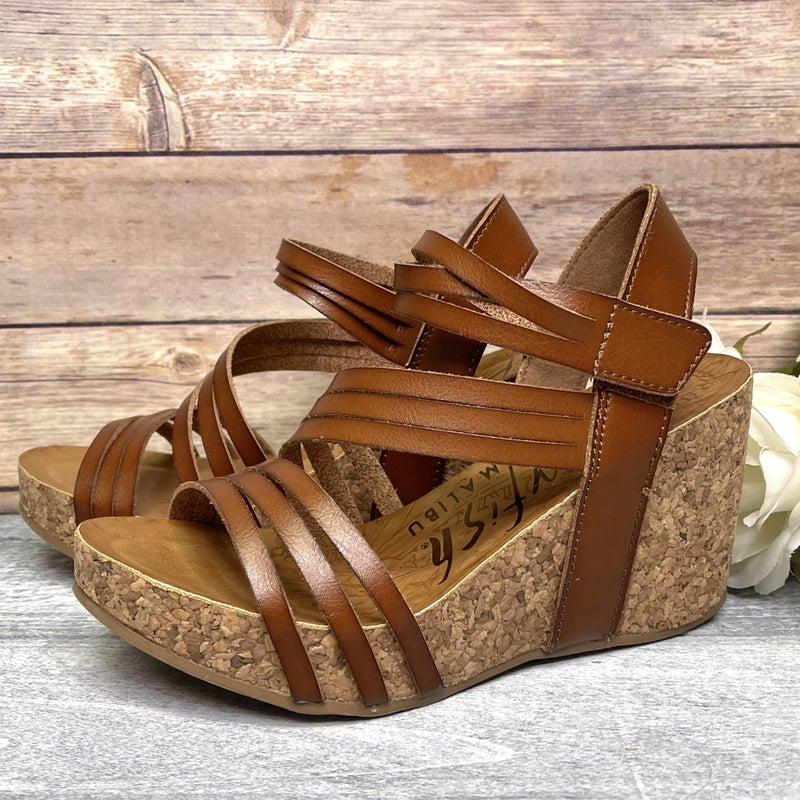 Strap on Beauty Blowfish Wedges