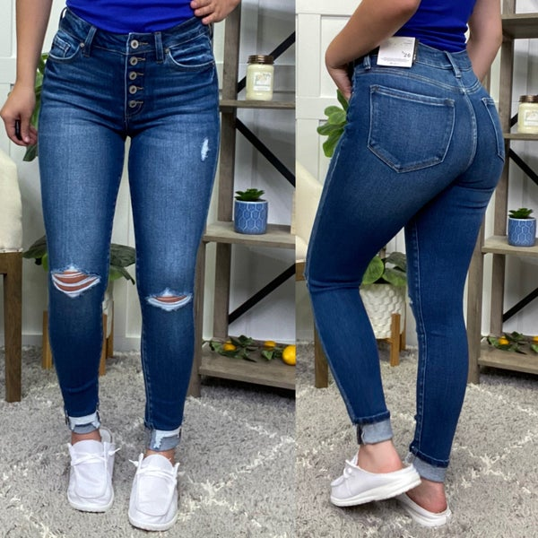 The Adeline High Rise KanCan Jeans