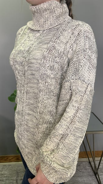 Cable Knitted POL Sweater