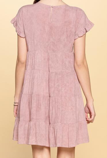 Mauve Lightweight Layered Dress