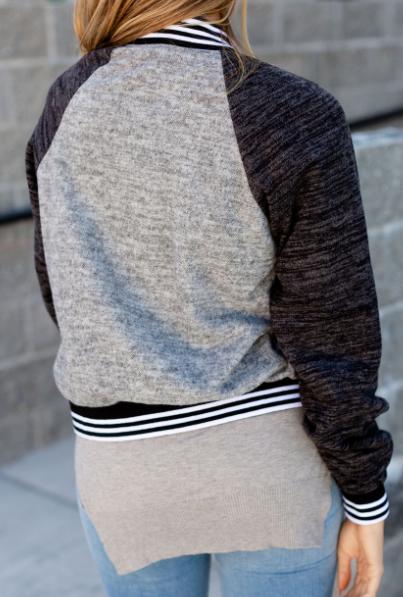 Varsity Sports Ampersand Avenue Bomber Jacket