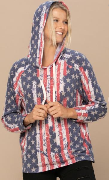 Splatter Me Americana Hoodie