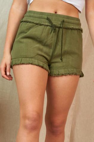 Holding Onto Summer Shorts