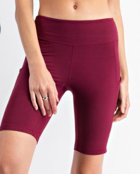 Rewarding Wine Biker Shorts