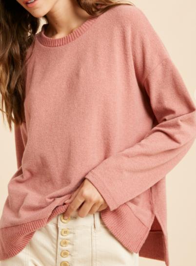 Plain Jane Cozy Sweater - 2 colors!