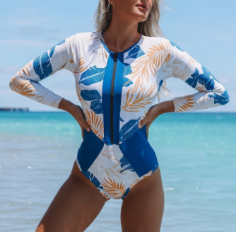 Surf's Up One Piece Swimsuit