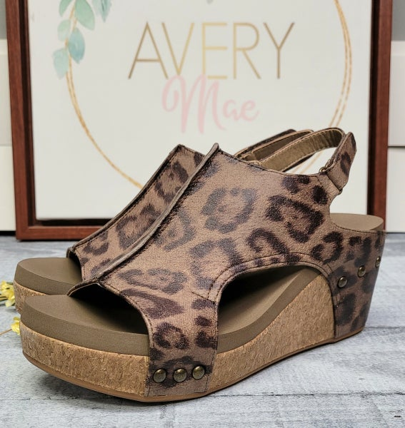 Going All Out Corky Wedges