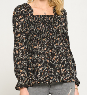 Mysterious Flower Top