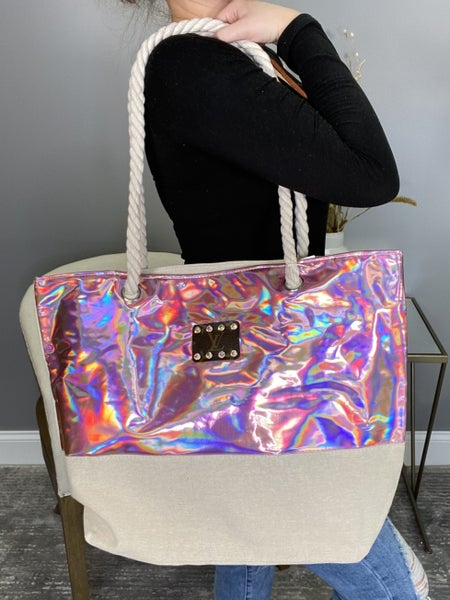 Up-Cycled Designer Shopping Spree Tote