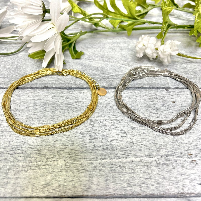 Sweet & Simple B.B Lila Wrap Bracelet