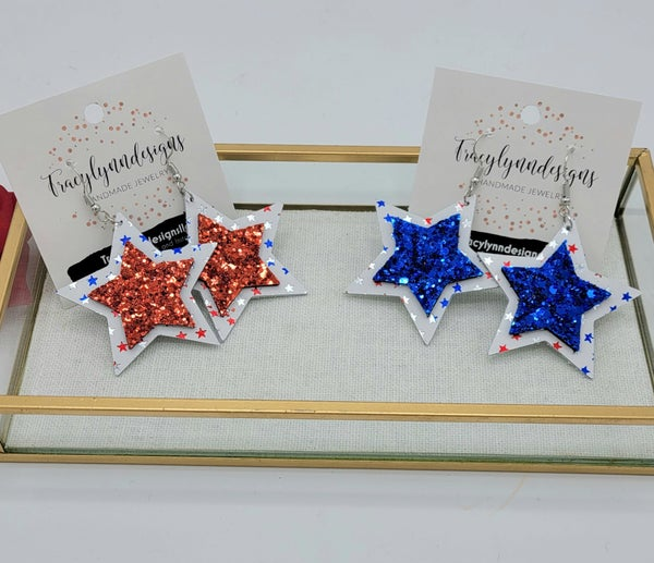 Sparkle and Shine Earrings - 2 colors!