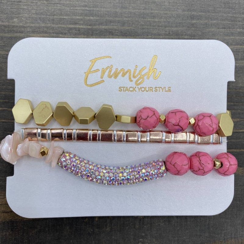 Pink and Gold Erimish Starter Stack