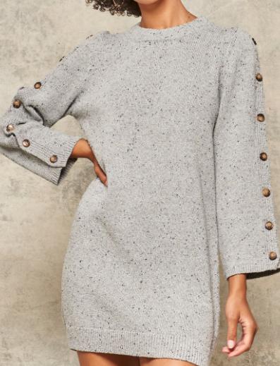 Keep Me Sweater Dress