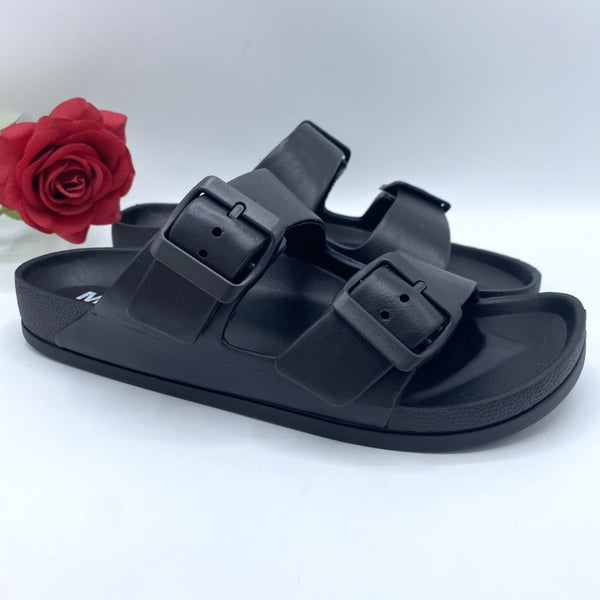 Blacked Out Sandal