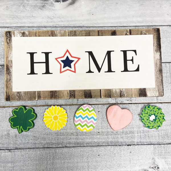 Change It Up Home Sign - 7 piece set!