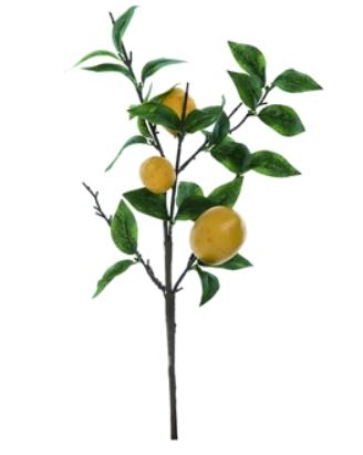 Lemon Spray Decor