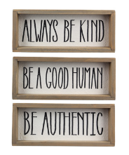 Be Decor Signs - 3 options!