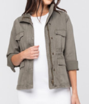 Army Denim Judy Blue Jacket